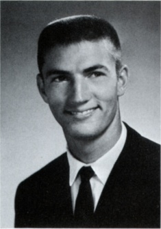 Phil Robertson in his sophomore year (1966-1967) as quarterback