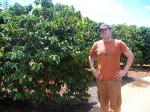 "Visited ""Kauai Coffee Company"" plantation....very very cool."