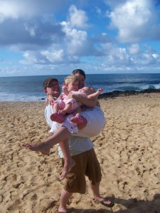 I can only carry them, so long as the Father carries me. :)