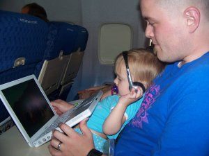 Gracias Dora, for helping us survive this flight.