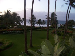The view from our room...awesome.